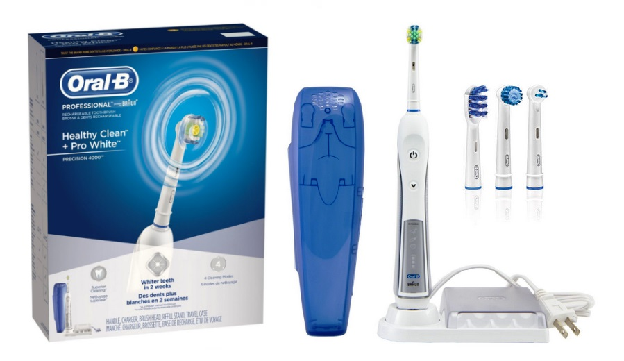Braun Oral B 4000 Best Electric Toothbrush List