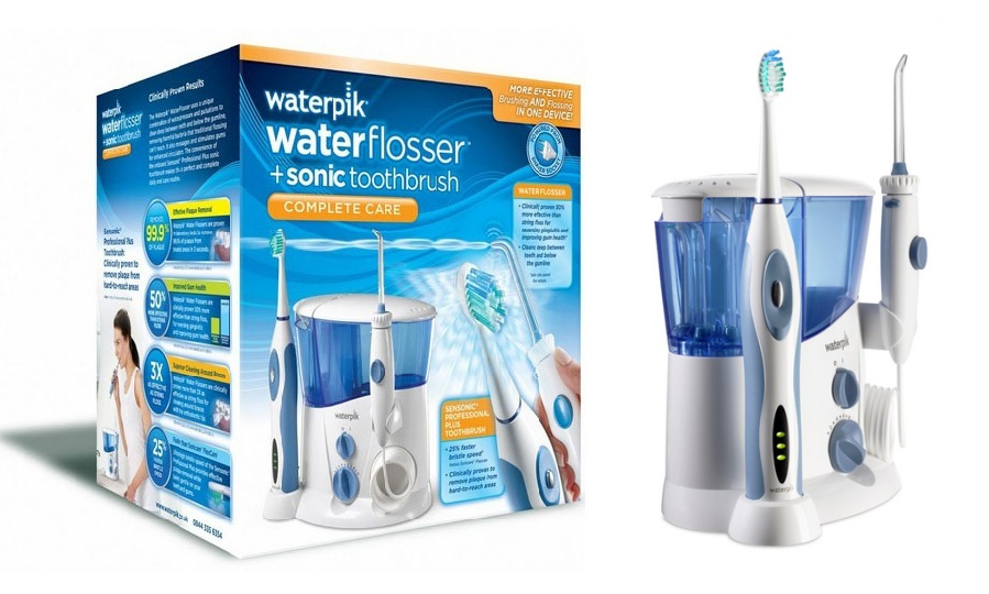 Waterpik Complete Care Wp 900 Water Flosser And Sonic