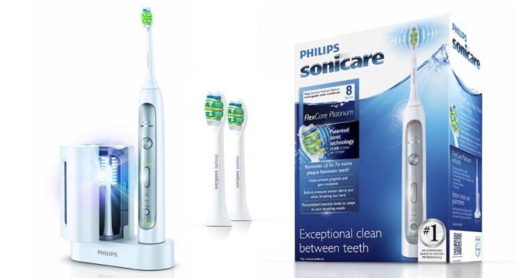 philips sonicare hx9110 02 flexcare platinum rechargeable. Black Bedroom Furniture Sets. Home Design Ideas