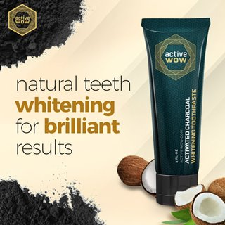 Active Wow Activated Charcoal Toothpaste
