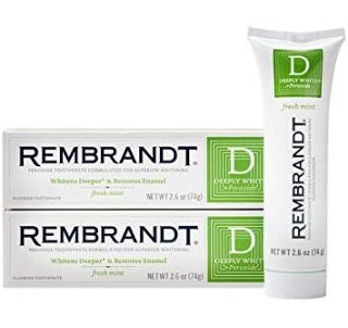 Rembrandt Deeply White Fluoride Toothpaste