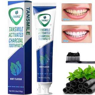 Tansmile Charcoal Teeth Whitening Toothpaste
