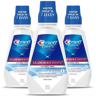 Crest 3D White Luxe Glamorous White Multi-Care Mouthwash