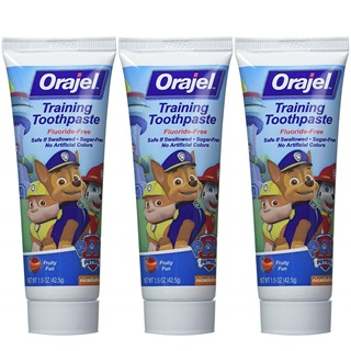 Orajel Toddler Training Toothpaste Tooty Fruity Flavor