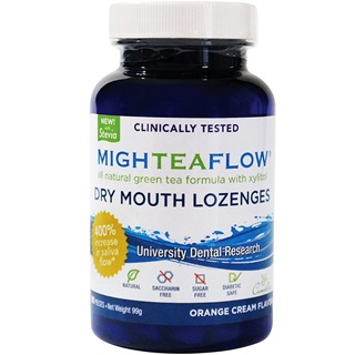 MighTeaFlow Natural Dry Mouth Lozenge