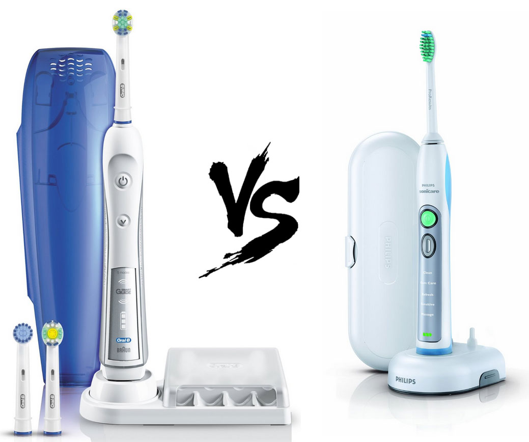Oral-B VS Sonicare - Who Makes the Best Electric Toothbrush 2d8da8248833