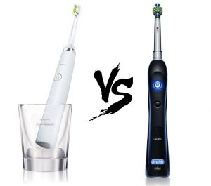 Philip sonicare diamondclean vs Oral B black 7000