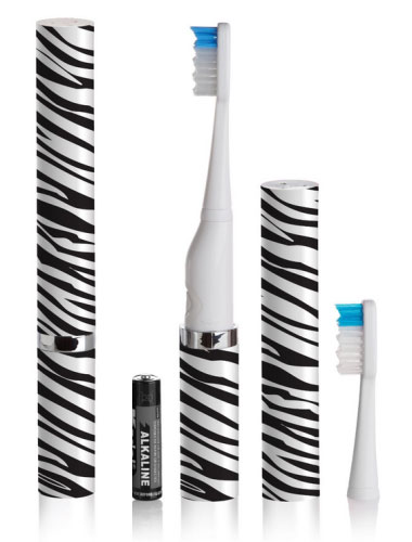 Violife Slim Sonic Toothbrush, Zebra