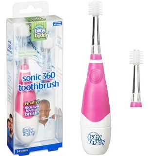 Baby Buddy Brilliant Kids Sonic Toothbrush