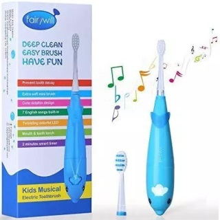 Fairywill Musical Electric Kids Toothbrush