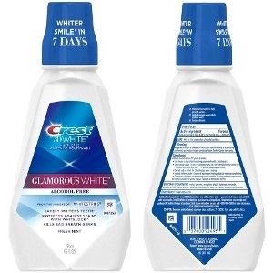 Crest 3D White Multi-Care Whitening Mouthwash