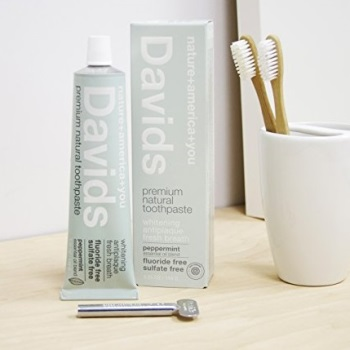 Davids Antiplaque Natural Toothpaste