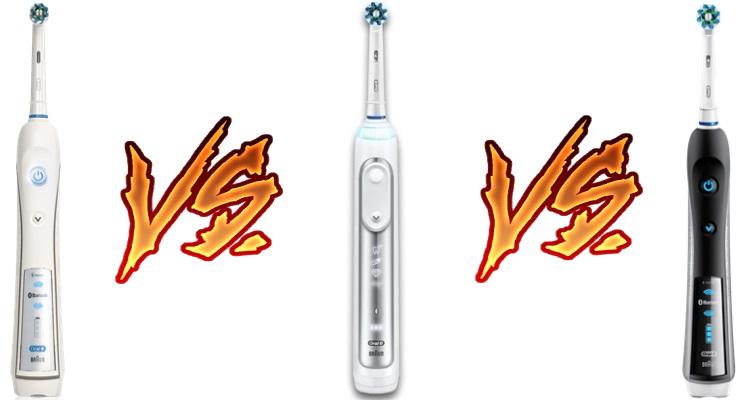 Oral B Pro 5000 vs 6000 vs 7000