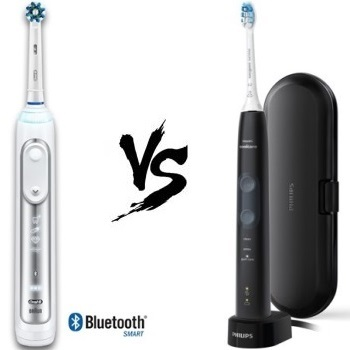 Oral B 6000 vs Sonicare 5100