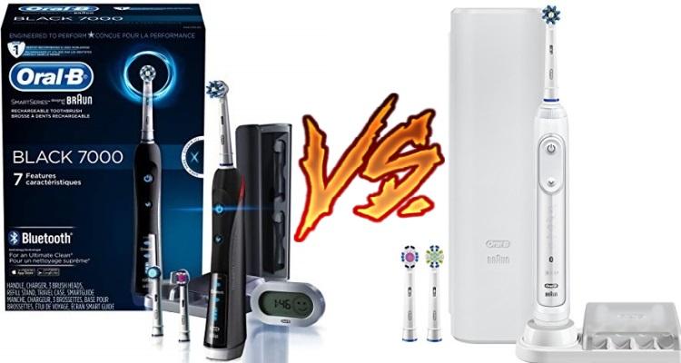 Oral-B 7000 vs 7500