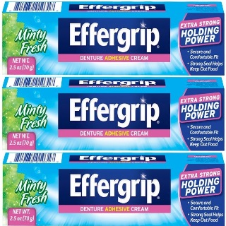 Effergrip Dentures Adhesive Cream