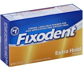Fixodent Extra Hold Adhesive Powder