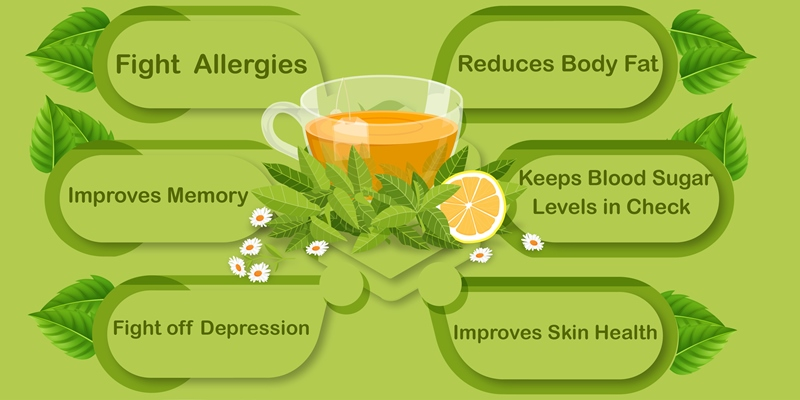Oral Benefits of Green Tea
