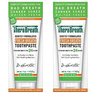TheraBreath Fresh Breath Toothpaste