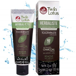TWIN LOTUS Charcoal Teeth Whitening Charcoal Toothpaste