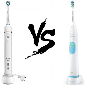 Oral-B Pro 1500 Vs Philips Sonicare 2 Series