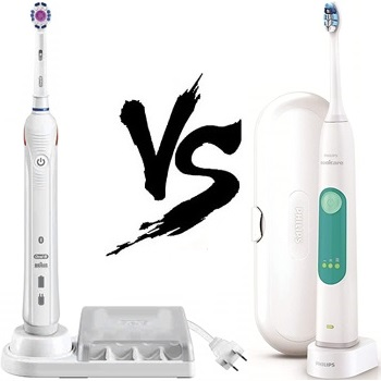 Oral-B Pro 3000 vs Philips Sonicare 3 Series