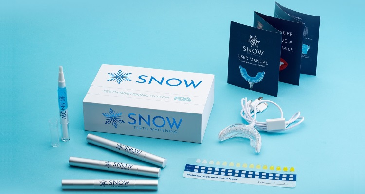 Snow Teeth Whitening  Kit Actual Size