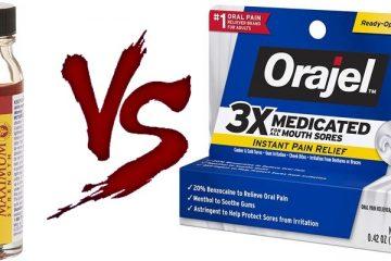Anbesol vs Orajel